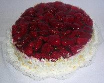 Erdbeerjoghurt Sahnetorte